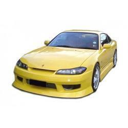 1995-1998 Nissan 240SX S14 Duraflex Silvia S15 Converion Type U Kit - 4 Piece