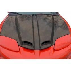 1998-2002 Pontiac Firebird Carbon Creations WS-6 Hood - 1 Piece
