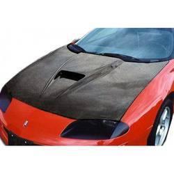 1993-1997 Chevrolet Camaro Carbon Creations Supersport Hood - 1 Piece (Overstock)