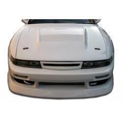1989-1994 Nissan Silvia S13 Duraflex B-Sport Wide Body Front Bumper Cover - 1 Piece