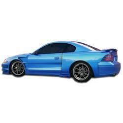 1994-1998 Ford Mustang Duraflex GT500 Wide Body Door Caps - 2 Piece - (Overstock)