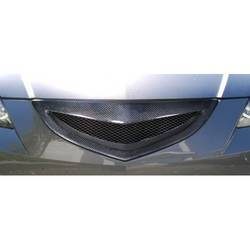 2004-2009 Mazda 3 4DR Carbon Creations Open Mouth Grille - 1 Piece