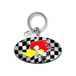 Mr. Horsepower Key Ring - Chain - Enamel