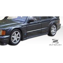 1986-1995 Mercedes E Class W124 4DR Duraflex Evo 2 Wide Body Door Caps - 4 Piece