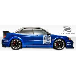 2004-2005 Subaru Impreza WRX STI 4DR Duraflex C-GT Wide Body Door Caps - 2 Piece