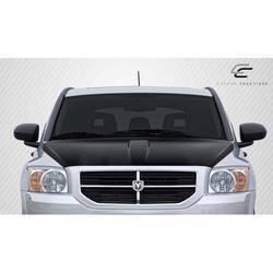2007-2012 Dodge Caliber Carbon Creations OEM Look Hood - 1 Piece (Overstock)