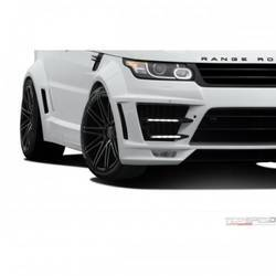 2014-2015 Land Rover Range Rover Sport AF-2 Wide Body LED Lights - 2 Piece
