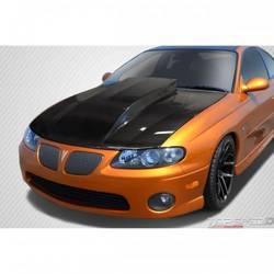 2004-2006 Pontiac GTO Carbon Creations Cowl Hood - 1 Piece