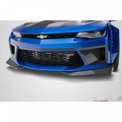 2016-2018 Chevrolet Camaro Carbon Creations DriTech Grid Front Splitters - 2 Piece