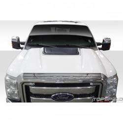 2011-2015 Ford Super Duty F250 F350 F450 Duraflex Raptor Look Hood - 1 Piece