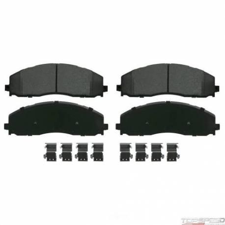 SevereDuty Semi-Metallic Disc Brake Pad Set