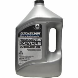 Quicksilver Premium Plus 2-Cycle Outboard Oil - 4Ltr - 2 stroke - 92-858027Q01