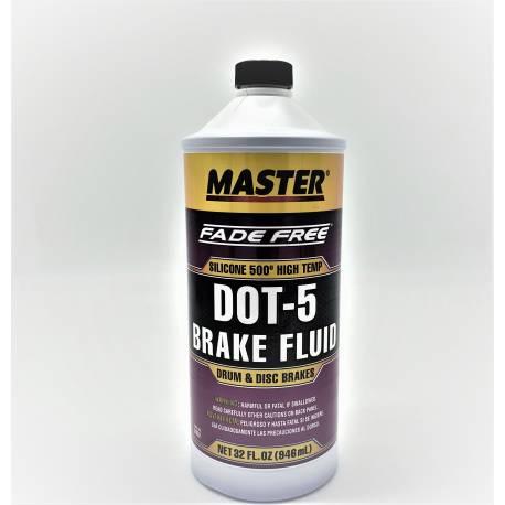 MASTER Brake Fluid DOT 5 – 32 Oz