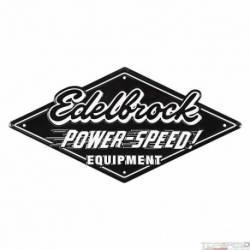 Edelbrock Garage Tin Sign