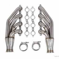 Flowtech LS Turbo Headers-Polished