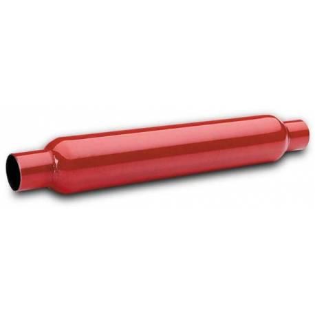 "RED HOTS GLASSPACK EXHAUST MUFFLER 2"" INLET 2"" OUTLET"