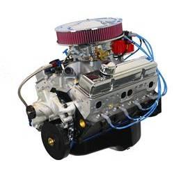 BluePrint Engines GM 383 C.I.D. 430 HP Stroker Dressed Long Blocks with Aluminum Heads BP38313CTC1D