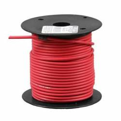 WIRE 16 GA 100 FT SPOOL RED