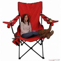 GIANT CHAIR/COOLER RED