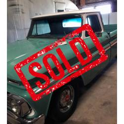 1966 C10 , new crate engine 350 , 700R4, 4wheel disc